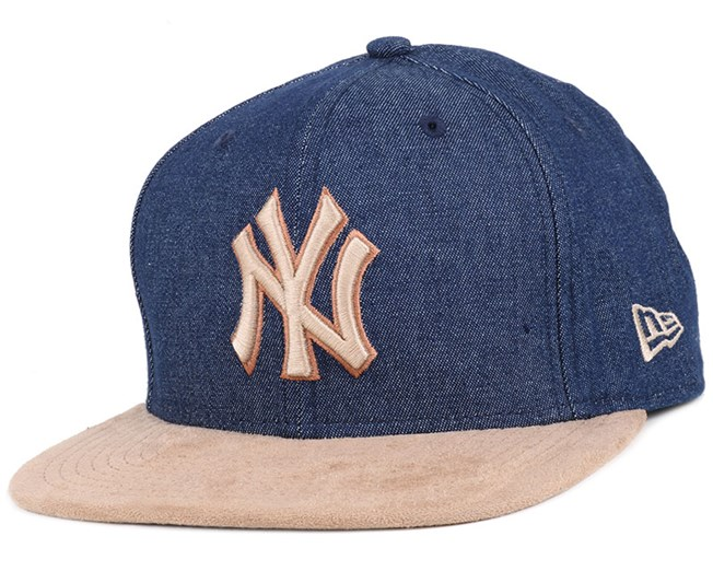 NY Yankees Rustic Navy/Brown 9Fifty Snapback - New Era