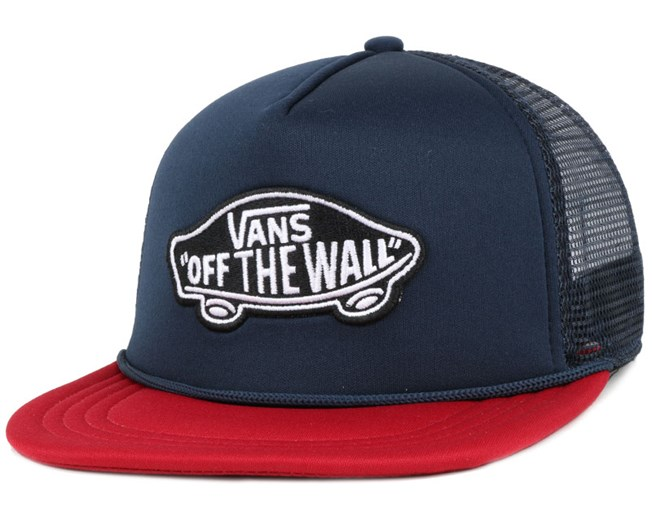 Classic Patch Dress Blue Trucker - Vans