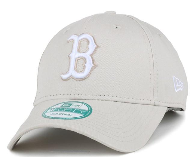 Boston Red Sox Seasonal Contrast Stone/White 940 Adjustable - New Era