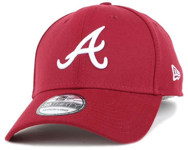 Atlanta Braves League Essential Cardinal 39Thirty Flexfit - New Era