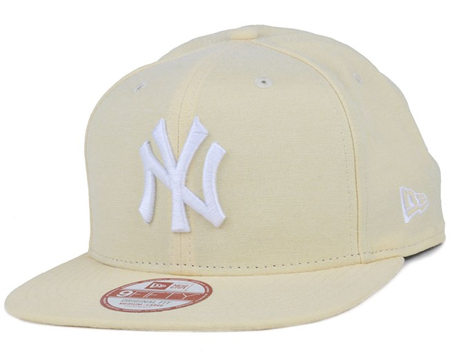 NY Yankees Oxford Lights Yellow 9Fifty Snapback - New Era