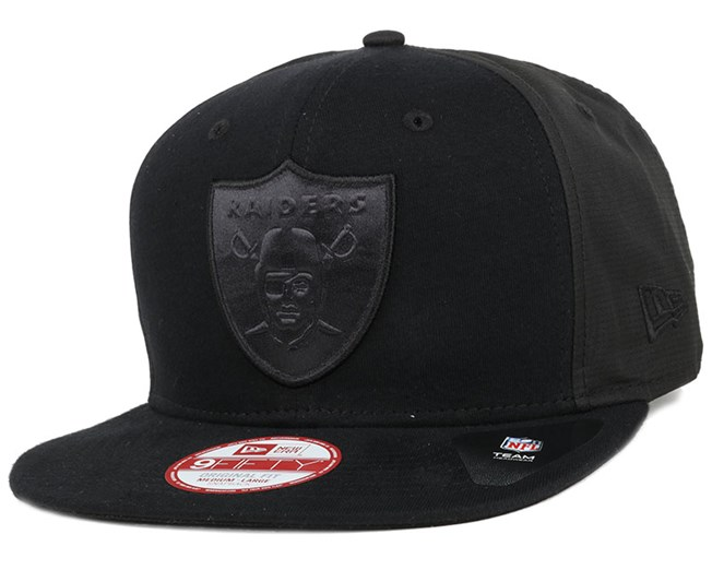 Oakland Raiders Remix Emossed Black 9Fifty Snapback - New Era