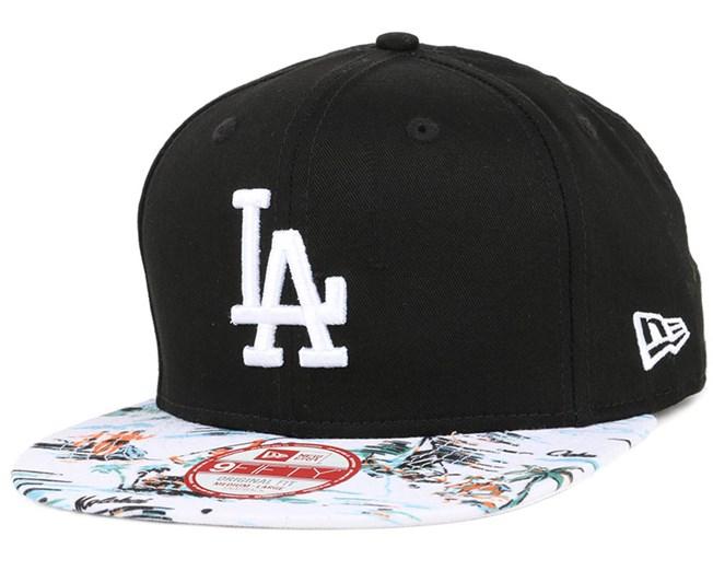 LA Dodgers Offshore Visor Black/White 9Fifty Snapback - New Era