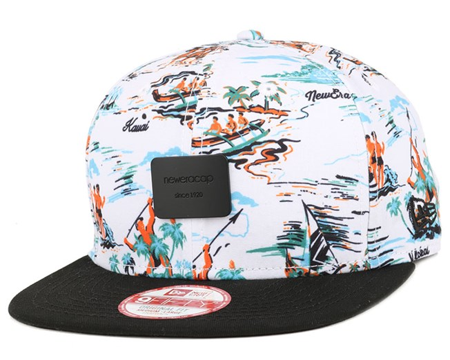 Offshore Crown Patch White/Black 9Fifty Snapback - New Era