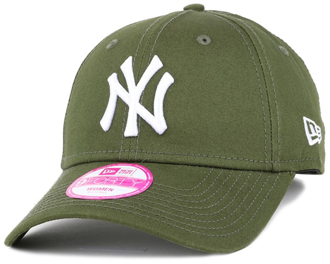 NY Yankees League Essential Green Woman 940 Adjustable - New Era