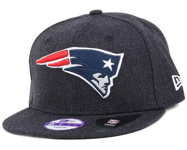 Kids New England Patriots Tonal Team Heather 9Fifty Snapback - New Era