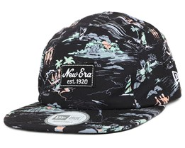 Offshore AOP Camper Black 5-Panel - New Era