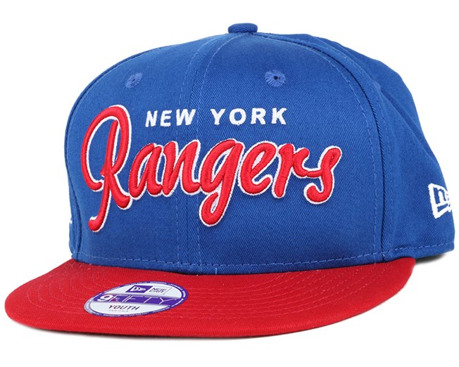 Kids NY Rangers NHL Wordmark 9Fifty Snapback - New Era