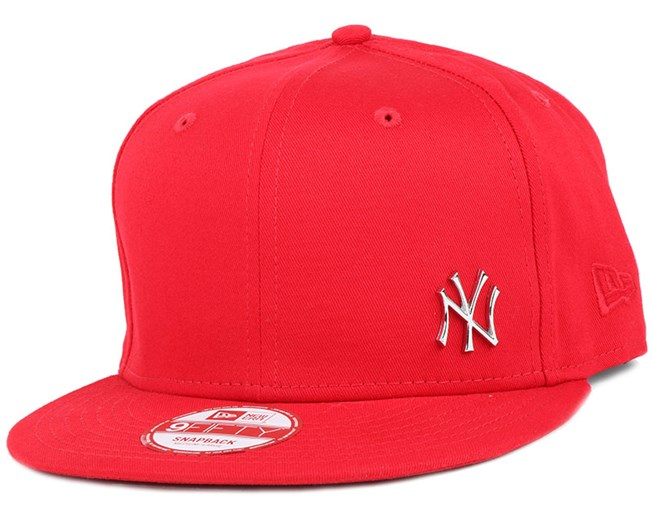 NY Yankees MLB Flawless Metal Scarlet 9Fifty Snapback - New Era