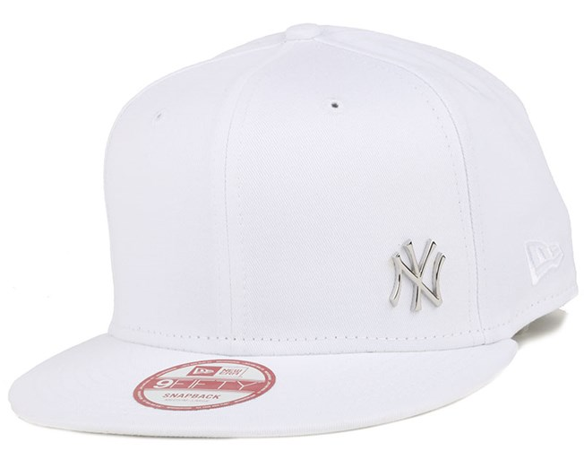 NY Yankees MLB Flawless Metal White/Black 9Fifty Snapback - New Era