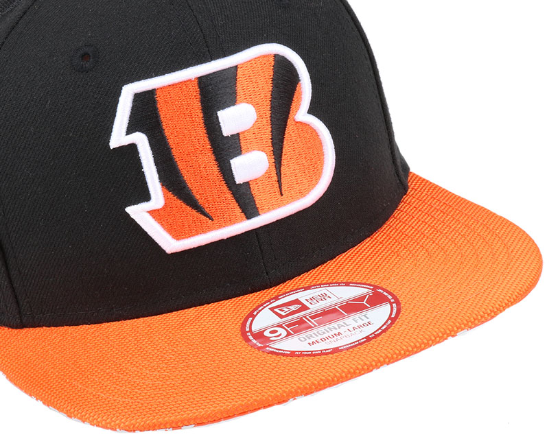 Cincinnati bengals nfl sideline 9fifty snapback new era for Bengalas 50 cm