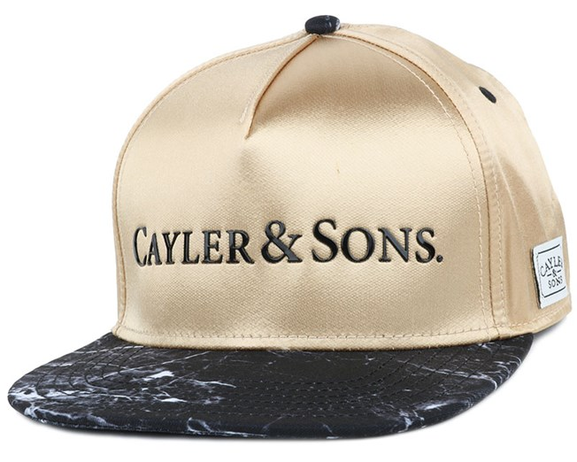 Infinity Gold Snapback - Cayler & Sons