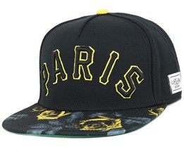 Paris Jaune Black Snapback - Cayler & Sons