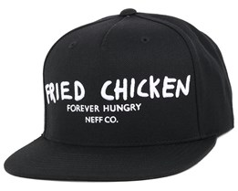 Fried Bauce Black Snapback - Neff