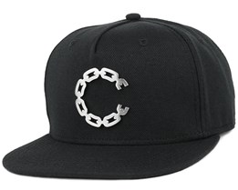 Thuxury Chain C Black Strapback - Crooks & Castles