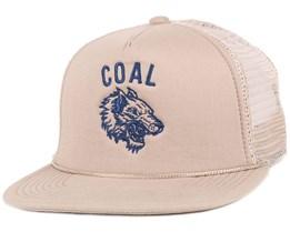 The Pack Khaki Snapback - Coal