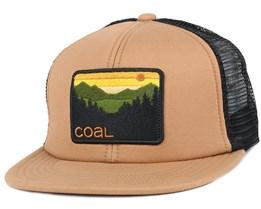 The hauler Light Brown Trucker Snapback - Coal