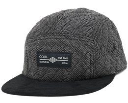 The Clive Charcoal 5-Panel - Coal