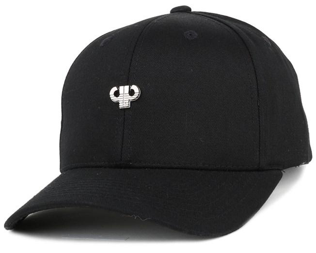 Icon Plate Curved Black Adjustable - Pelle Pelle