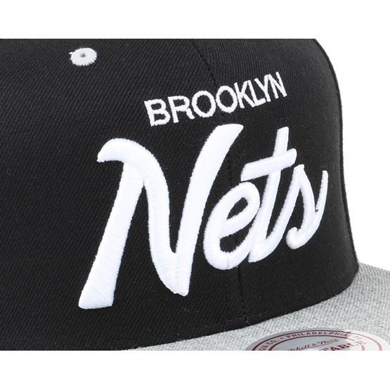 ... hot brooklyn nets heather special script snapback mitchell ness caps  hatstore 9cf50 e441a 7dd1f24ae95