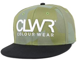 Asymmetric Loden Snapback - Colour Wear