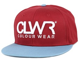 Burgundy Snapback - Colour Wear