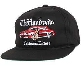 Hyna Black Snapback - The Hundreds