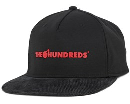 Bar Logo Black Snapback - The Hundreds