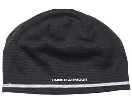 T400 Run Black Beanie - Under Armour