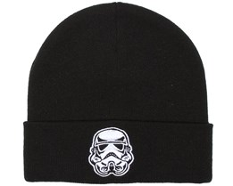 Trooper Head Black Beanie - Dedicated