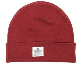 Standard Issue Oxblood Beanie - Emerica