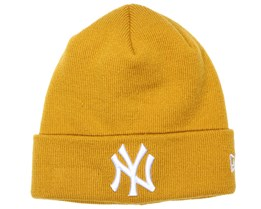 NY Yankees Essential Cuff Mustard Beanie - New Era