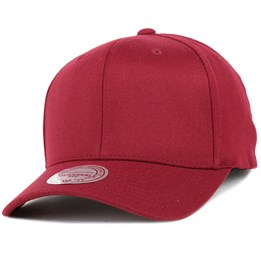 a3f7cc57ec8 Mitchell   Ness Blank 110 Flexfit Burgundy Adjustable - Mitchell   Ness  £21.99