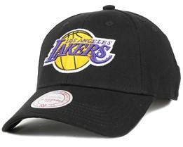 LA Lakers Low Pro Black Adjustable - Mitchell & Ness