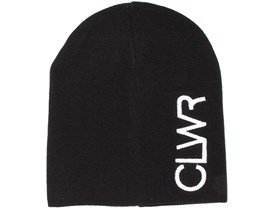 Logo Black Beanie - Colour Wear