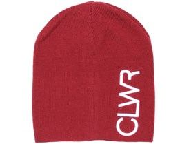 Logo Burgundy Beanie - Colour Wear