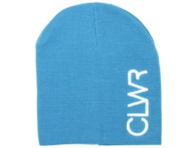 Logo Acid Blue Beanie - Colour Wear