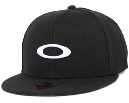 Ellipse Print Black Snapback - Oakley