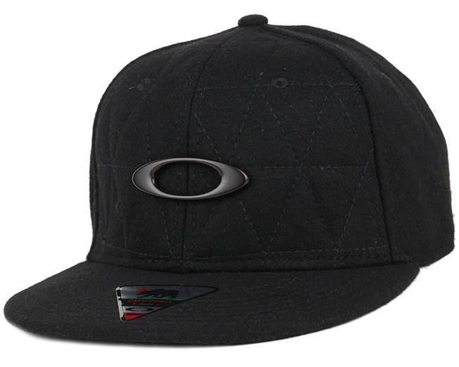 06c8476c392 Chips Wool Jet Black Snapback - Oakley caps