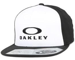 Silver 110 White Snapback - Oakley