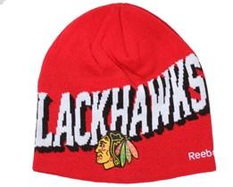 Chicago Blackhawks Face Off Beanie - Reebok