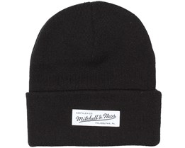 M&N Black Beanie - Mitchell & Ness