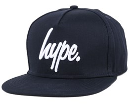 Script Navy/White Snapback - Hype