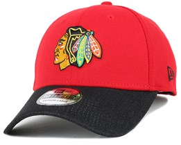 Chicago Blackhawks Denim Mix Team 39Thirty Flexfit - New Era