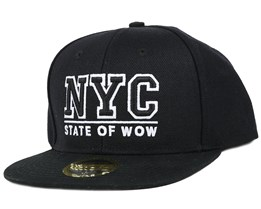 Kids Toronto 2 Black Snapback - State Of Wow