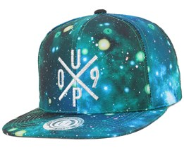 UP09 Galaxy Petroleum/Silver Snapback - Upfront
