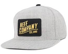 Station Grey Snapback - Neff