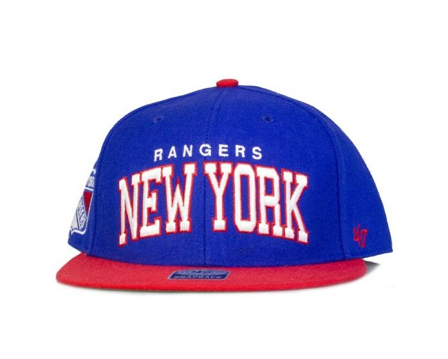47 Brand - New York Rangers Blockshed Blue