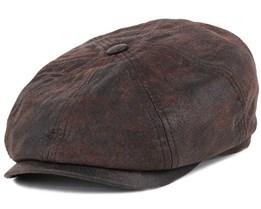 Hatteras Pigskin Flat Cap - Stetson