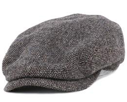 Belfast Woolrich Herringbone Flat Cap - Stetson